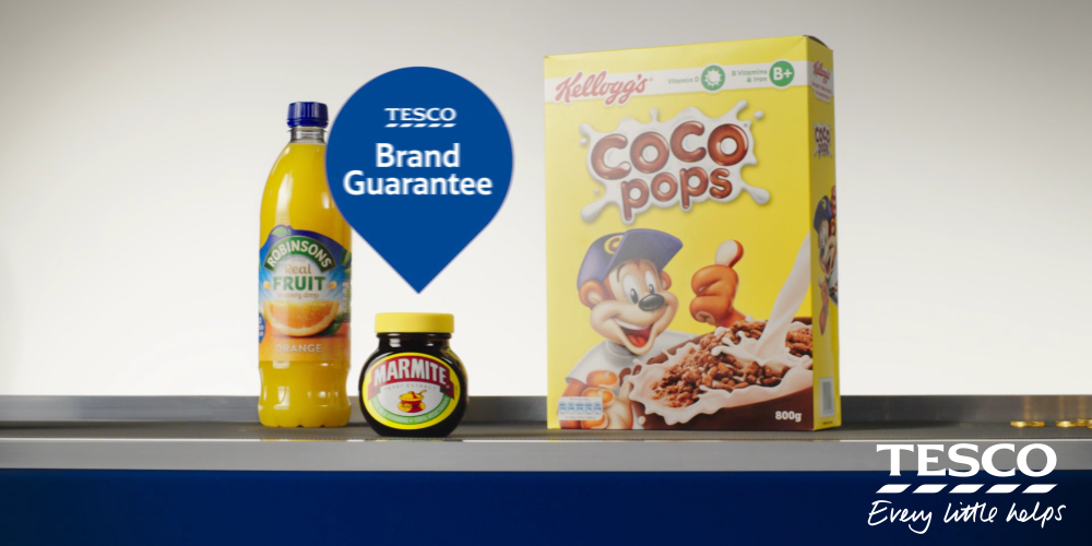 Tesco Brand Guarantee